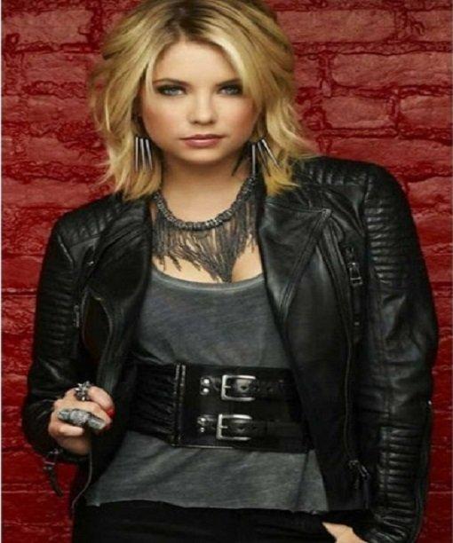 Hanna Little Liars Leather Jacket