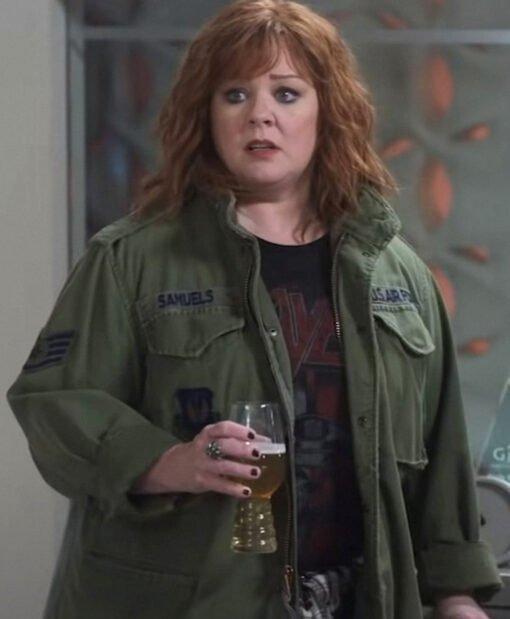 Lydia Berman Thunder Force Green Jacket