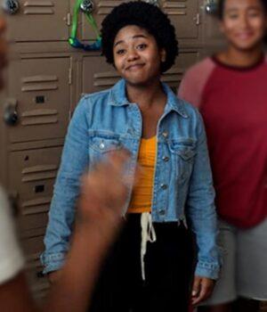 Moxie (2021) Amaya Blue Jacket
