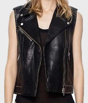 Mazikeen Lucifer Real Leather Vest