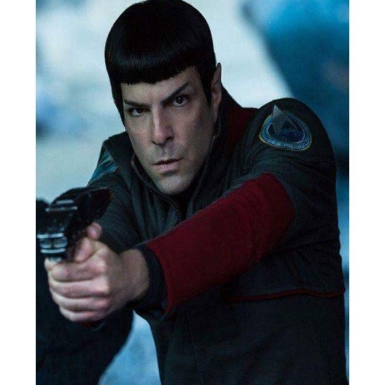 Star Trek Beyond Zachary Quinto Grey Jacket