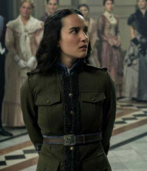 Shadow and Bone Alina Starkov Green Fleece Jacket