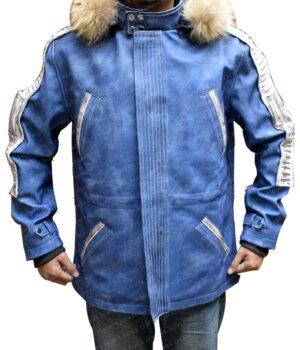 Cassian Andor Captain Nylon Blue Jacket