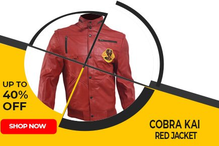 Cobra Kai Red Jacket