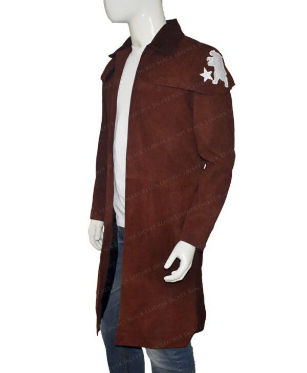 Fallout New Vegas NCR Veteran Ranger Duster Brown Coat