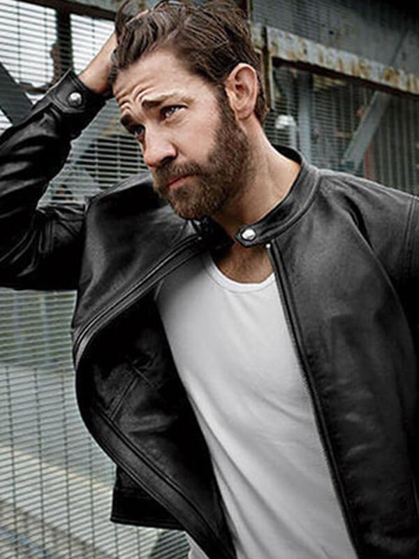 Jack Ryan Black Leather Jacket