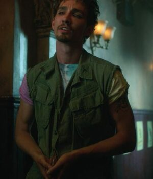 Klaus Hargreeves The Umbrella Academy Green Vest