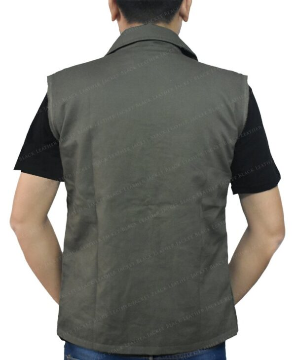 Klaus Hargreeves The Umbrella Academy Green Vest Back