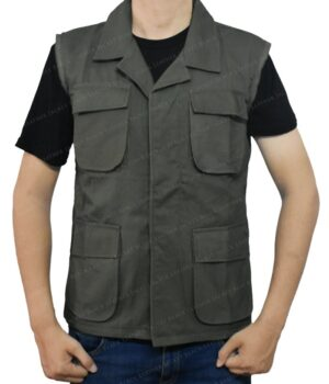 Klaus Hargreeves The Umbrella Academy Green Vest Front