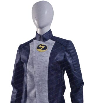 Nora West Allen XS The Flash PU Leather Jacket