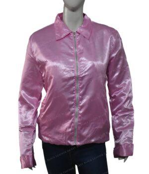 Pink Ladies Sandy Grease satin Jacket