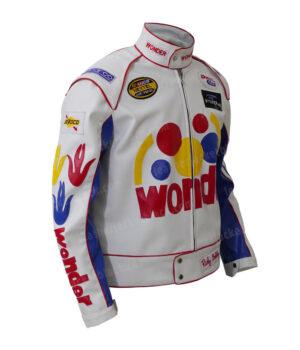 Ricky Bobby Wonder Bread Cowhide Jacket Right