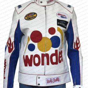 Wonder Bread Ricky Bobby Cowhide Jacket