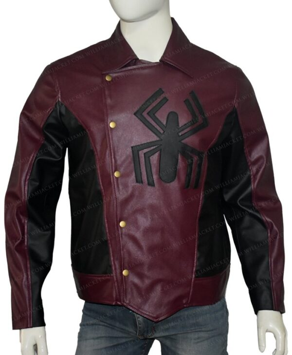 The Last Stand Spider Man Peter Parker Jacket Front