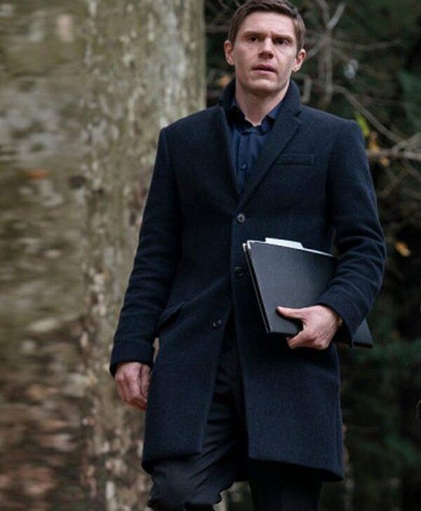 Colin Zabel Mare of Easttown Black Coat