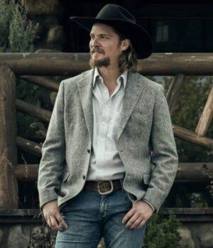 Kayce Dutton Yellowstone Gray Blazer