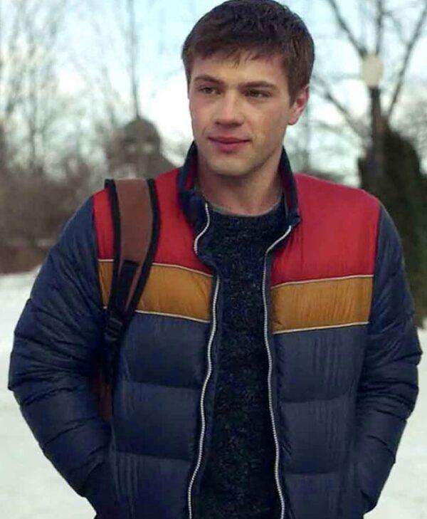 Tyler Locke Locke and Key Puffer Blue Jacket