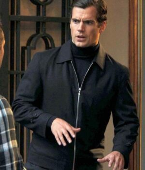 The Man From Uncle Solo Cotton Black Jacket