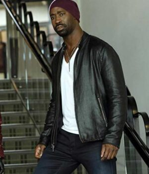 Lucifer Amenadiel Black Leather Jacket