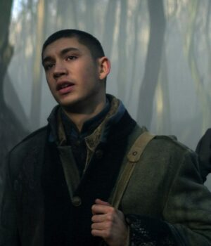 Archie Renaux Shadow And Bone Green Coat