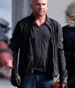 Crisis On Earth Dominic Purcell X Black Jacket