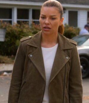 Lauren German Lucifer Brown Jacket