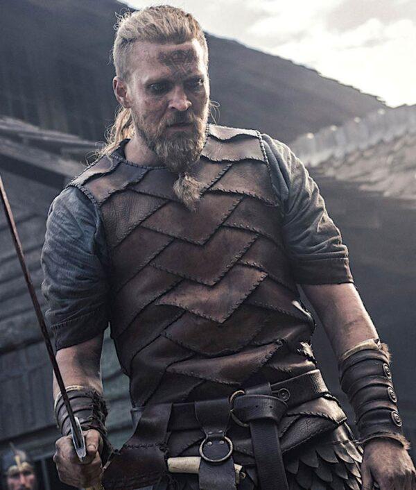 Ragnar The Last Kingdom Brown Vest