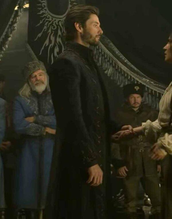 Ben Barnes Shadow And Bone (2021) Black Coat
