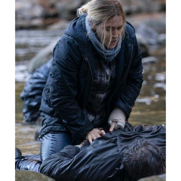 Kate Winslet Mare of Easttown Blue Jacket