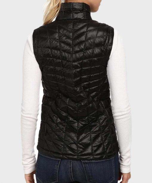Melinda Monroe Virgin River S02 Black Polyester Vest