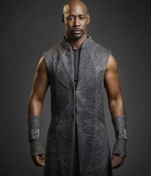 Amenadiel Lucifer Wool Blend Coat