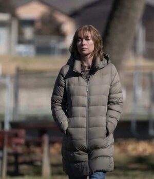 Lori Ross Mare of Easttown Parachute Jacket