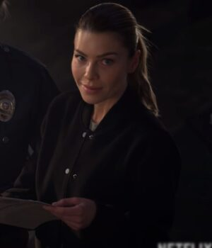 Chloe Decker Lucifer Fleece Jacket