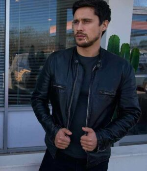 James Queen of The South Leather Jacket