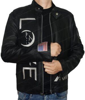 Tom Delonge Angle And Airwaves Leather Jacket