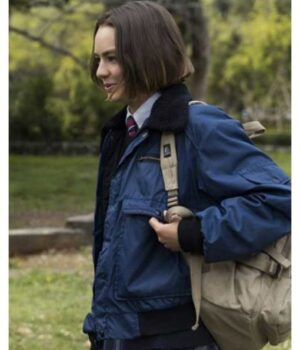 Atypical S04 Brigette Lundy-Paine Parachute Jacket