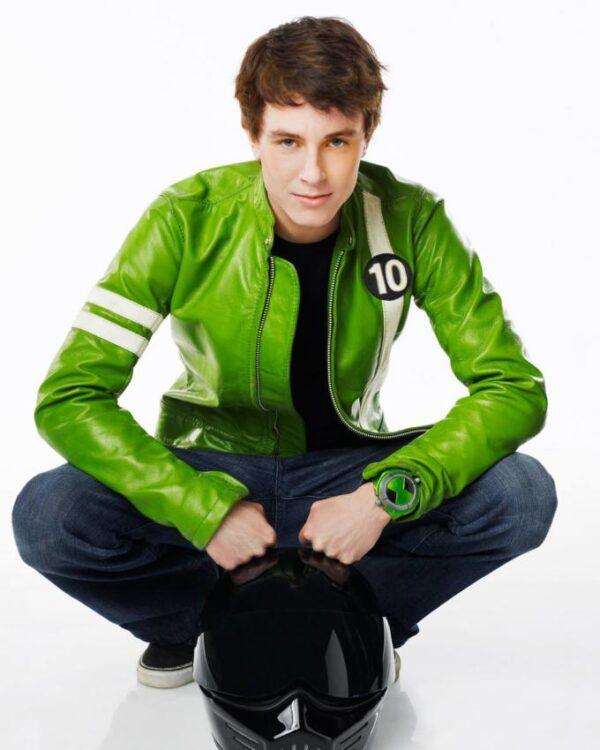 Ben 10 Alien Swarm PU Leather Jacket