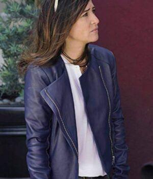 Better Things Pamela Adlon Blue Jacket