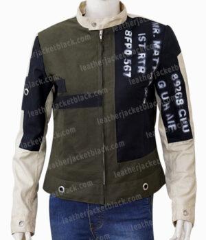 Cruella 2021 Cruella De Vil Cotton Jacket Front