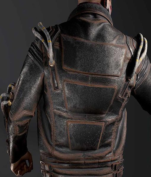 Cyberpunk 2077 Royce Leather Black Jacket