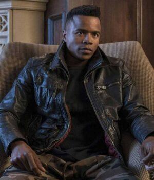 Dear White People Reggie Green Real Leather Jacket