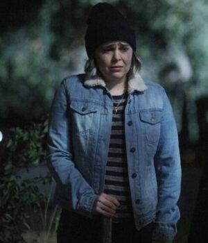 Good Girls Annie Marks Blue Denim Jacket