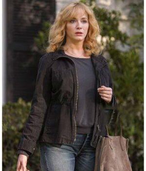 Good Girls Beth Boland Cotton Black Jacket