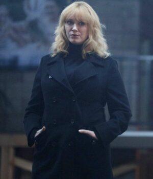 Good Girls Beth Boland Wool Coat