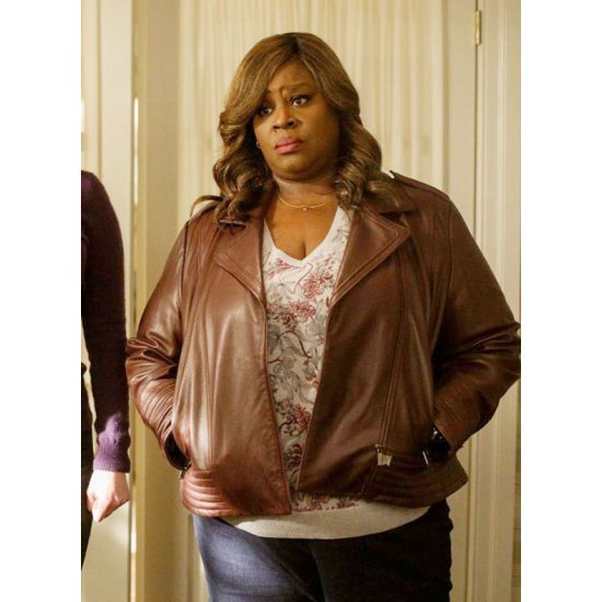 Good Girls Ruby Hill Leather Brown Jacket
