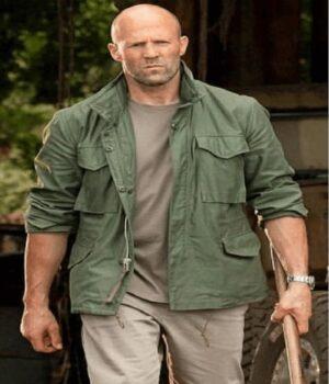 Deckard Shaw Hobbs & Shaw Green Jacket