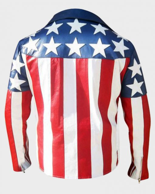 Independence Day 4 July USA Flag Jacket