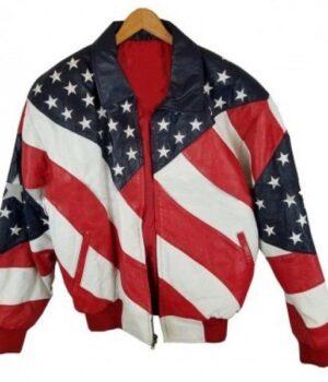 Independence Day Michael Hoban Bomber Jacket