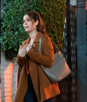 Love Victor Isabel Salazar Mid Length Wool Brown Coat