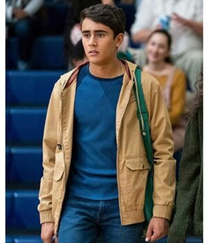 Love Victor Michael Cimino Hooded Cotton jacket